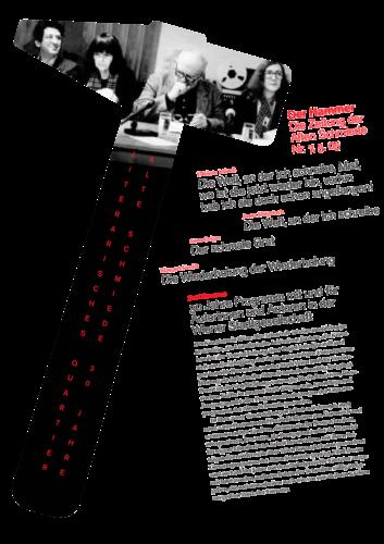 Nr. 7, Mai 2005: 30 Jahre Literarisches Quartier