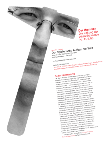 Nr. 13, April 2006: Autorenprojekt Benedikt Ledebur