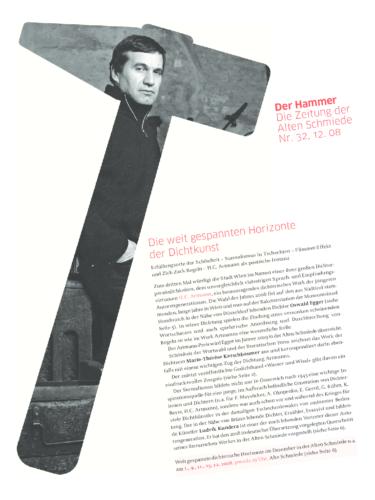Nr. 32, Dezember 2008: Oswald Egger / Marie-Thérèse Kerschbaumer / Ludvík Kundera