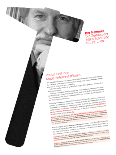 Nr. 33, Februar 2009: Gerhard Kofler
