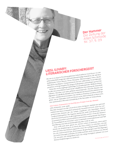 Nr. 37, September 2009: Liesl Ujvary