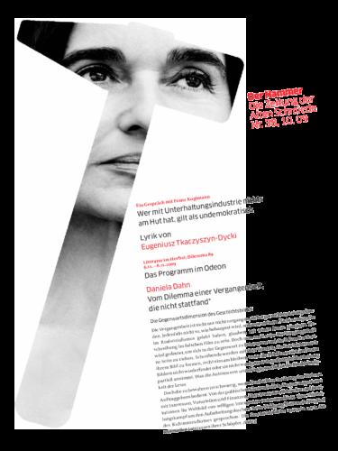 Nr. 38, Oktober 2009: Literatur im Herbst 2009