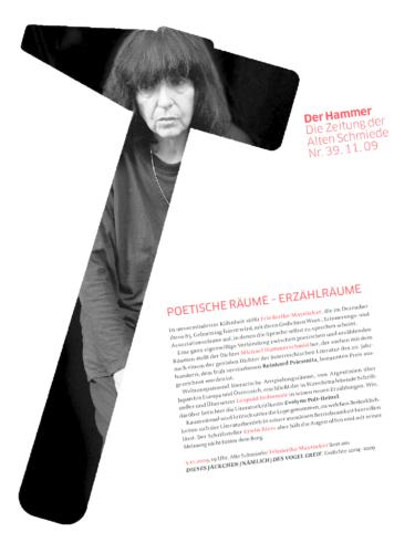 Nr. 39, November 2009: Poetische Räume – Erzählräume