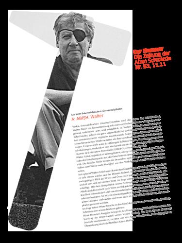 Nr. 53, November 2011: Walter Abish