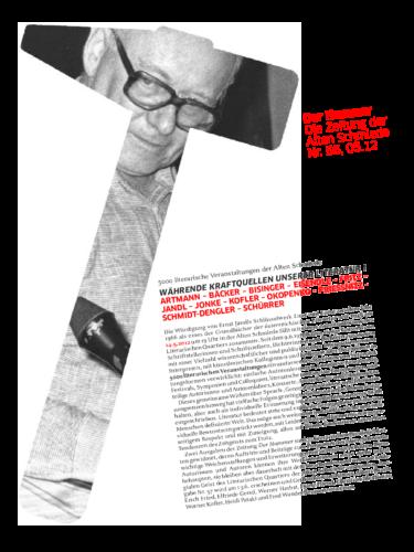 Nr. 56, Mai 2012: Währende Kraftquellen unserer Literatur I