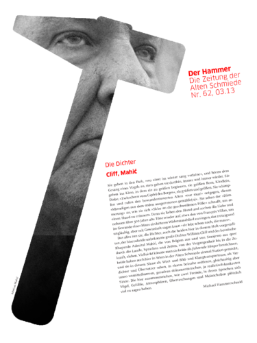 Nr. 62, März 2013: William Cliff / Admiral Mahić
