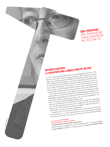 Nr. 63, April 2013: Jean-Michel Lou /Autorinnenprojekt R. Zuniga