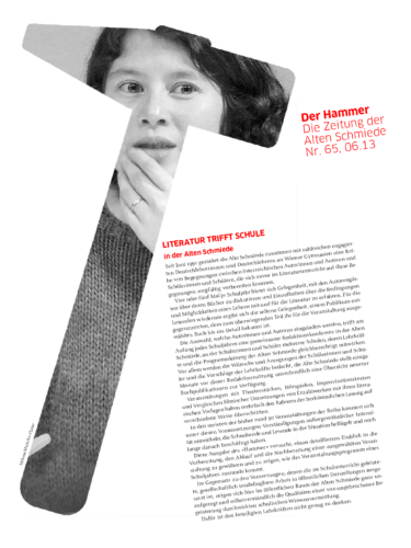 Nr. 65, Juni 2013: Literatur trifft Schule(AG Germanistik)