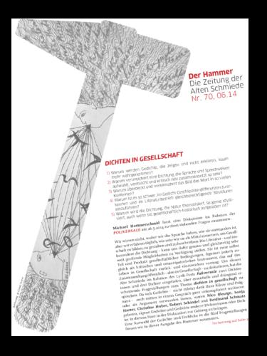 Nr. 70, Juni 2014: Dichten in Gesellschaft(Poliversale 2014 – 2)