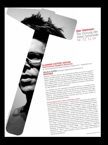 Nr. 72, November 2014: Slammer. Dichter. Weiter.(Autorenprojekt M. Köhle)