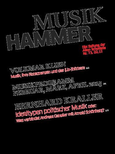 Nr. 73, Februar 2015: Musikhammer 2015
