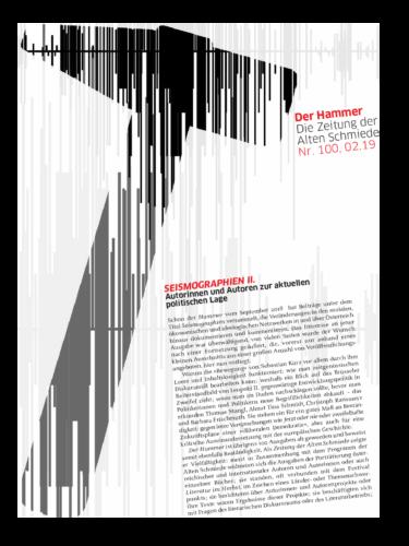 Nr. 100, Februar 2019: Seismographien II