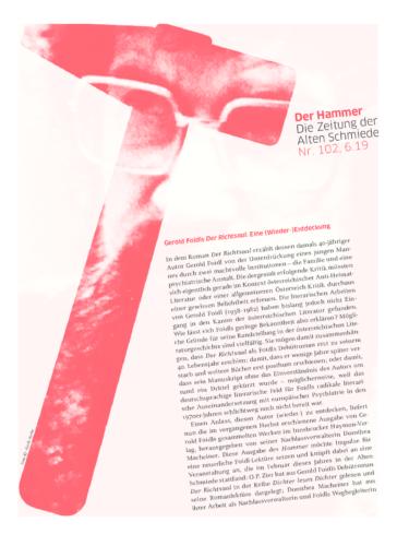 Nr. 102, Juni 2019: Gerold Foidl