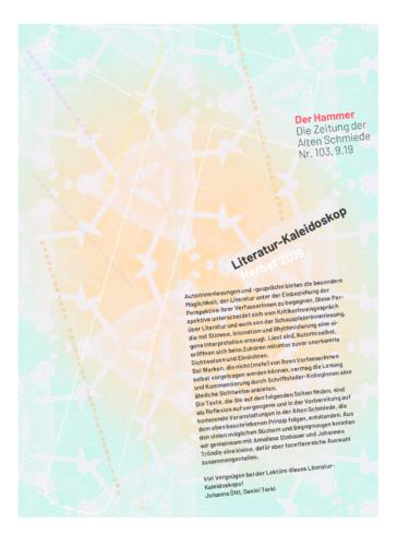 Nr. 103, September 2019: Literatur-Kaleidoskop